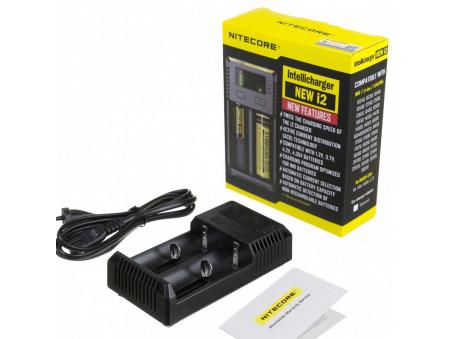 Nitecore Intellicharger i2 - nabíječka na dvě baterie