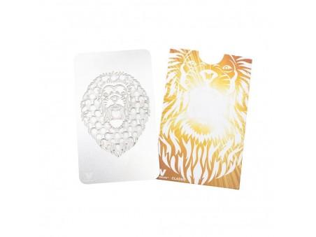 Roaring Lion - karta na drcení bylinek