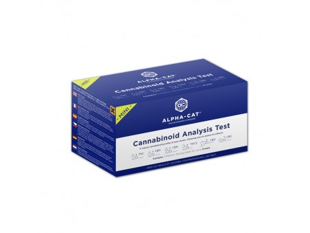 Mini sada na testování obsahu kanabinoidů - Alpha-Cat