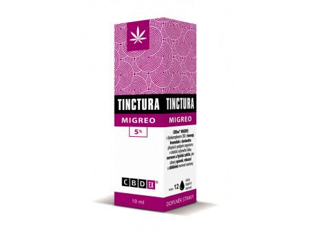 CBD Tinctura MIGREO 5% CBDex - 10 ml