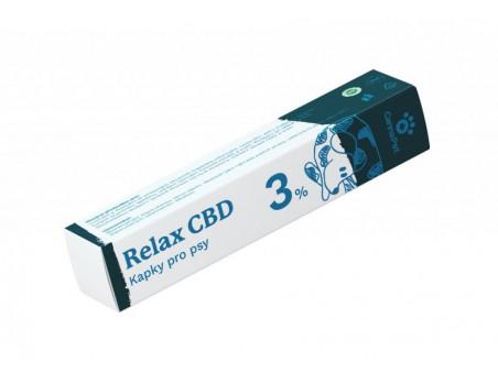 CBD kapky pro psy - Relax 3 %  - CannaPet