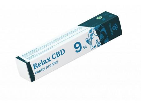 CBD kapky pro psy - Relax 9 %  - CannaPet