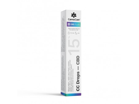 Noční péče - rakytníkový olej s CBD 15 %  - CannaCare - 7 ml