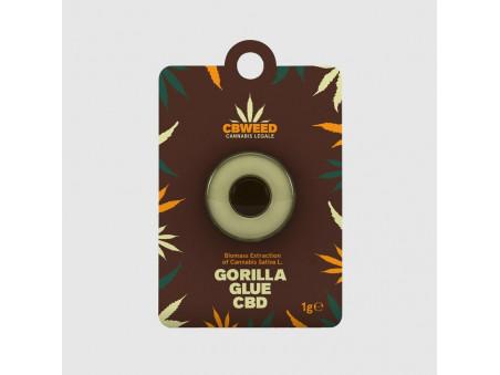 CBD hash - Gorilla Glue CBD - 1 g - CBWEED