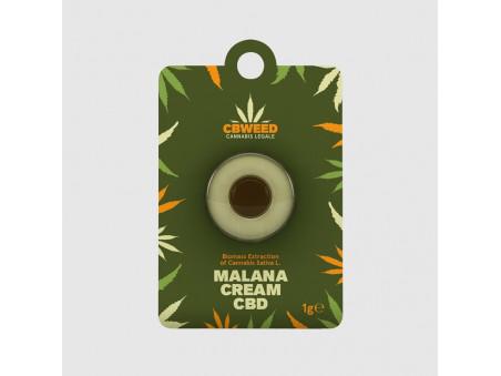 CBD hash - Malana Cream CBD - 1 g - CBWEED
