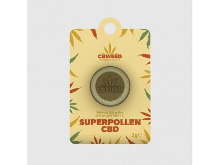 CBD hash - Super Pollen CBD - 1 g - CBWEED