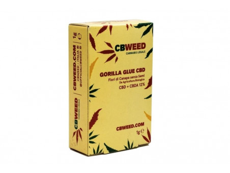 CBD konopí - Gorilla Glue - indoor - 1 gram - CBWEED