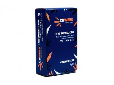 CBD konopí - NYC Diesel - indoor - 1 gram - CBWEED