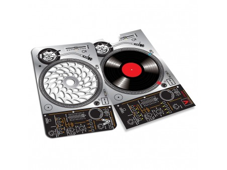 Dj Groove - karta na drcení bylinek