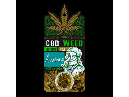 CBD konopí - Gold Avicenna - outdoor - 0,7 - 1 gram - EUPHORIA