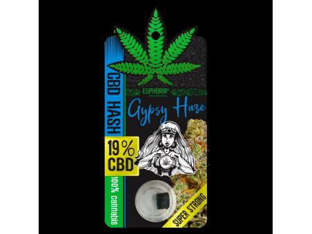 CBD Hash Gypsy Haze 1 g - 19 % CBD - EUPHORIA