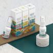 CBD sprej Harmony - širokospektrální - 1% CBD - 15 ml - tři příchutě