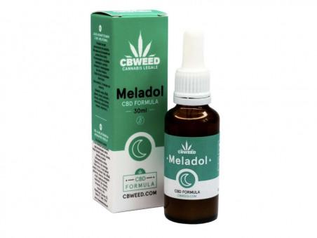 Meladol - CBD kapky s melatoninem pro podporu usínání - 30 ml - CBWEED