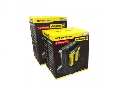 Nitecore Intellicharger i8 - nabíječka na 8 baterií
