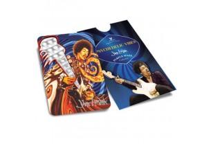 Psychedelic Vibes ( Jimi Hendrix) - karta na drcení bylinek