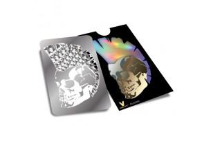 Mohawk Skull - karta na drcení bylinek