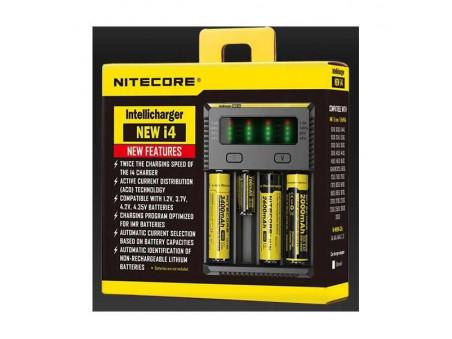 Nitecore Intellicharger i4 - nabíječka na čtyři baterie